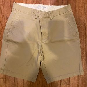 Old navy chino shorts